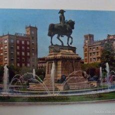 Postales: LOGROÑO. ESTATUA DEL GENERAL ESPARTERO. . Lote 57527882
