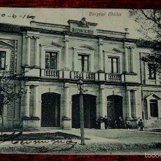 Postales: POSTAL DE LOGROÑO. HOSPITAL MILITAR. SALON MURILLO. NO CIRCULADA. ESCRITA EN 1916.. Lote 57616044