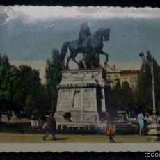 Postales: POSTAL LOGROÑO ESTATUA DEL GENERAL ESPARTERO Nº 71 EDICIONES ARRIBAS AÑO 1957. Lote 57647266