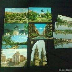 Postales: 10 POSTALES LOGROÑO. Lote 57884129