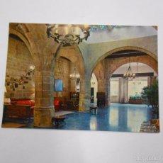 Postales: POSTAL PARADOR NACIONAL. SALON. SANTO DOMINGO DE LA CALZADA. LA RIOJA. TDKP7. Lote 58223671