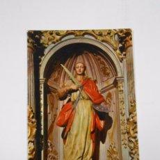 Postales: POSTAL DE LOGROÑO. CATEDRAL. IMAGEN DE SANTA LUCIA. SIGLO XVI. TDKP7. Lote 58224089