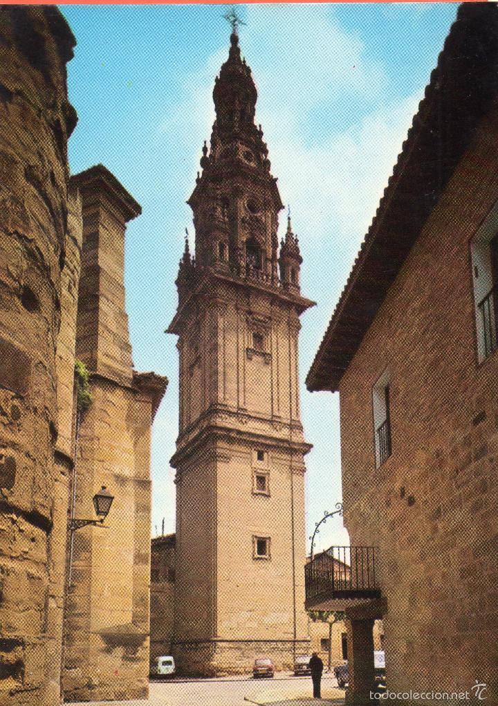 VESIV POSTAL SANTO DOMINGO DE LA CALZADA TORRE DE LA CATEDRAL (Postales - España - La Rioja Moderna (desde 1.940))