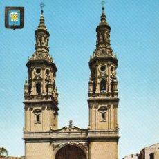 Postales: LOGROÑO CATEDRAL. Lote 59855176