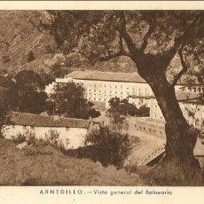 Postales: POSTAL, ARNEDILLO, VISTA GENERAL DEL BALNEARIO, SIN CIRCULAR. Lote 61189463