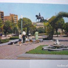 Postales: POSTAL LOGROÑO .-PASEO ESPOLON-CIRCULADA. Lote 61840576