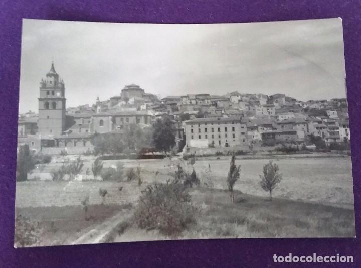 POSTAL DE CALAHORRA (LA RIOJA). N°18 VISTA GENERAL. EDICIONES SICILIA. AÑOS 50. (Postales - España - La Rioja Moderna (desde 1.940))