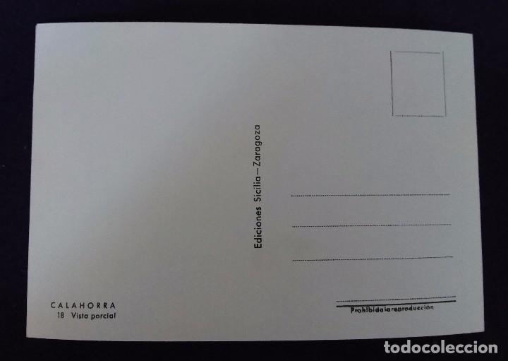 Postales: POSTAL DE CALAHORRA (LA RIOJA). N°18 VISTA GENERAL. EDICIONES SICILIA. AÑOS 50. - Foto 2 - 62272536
