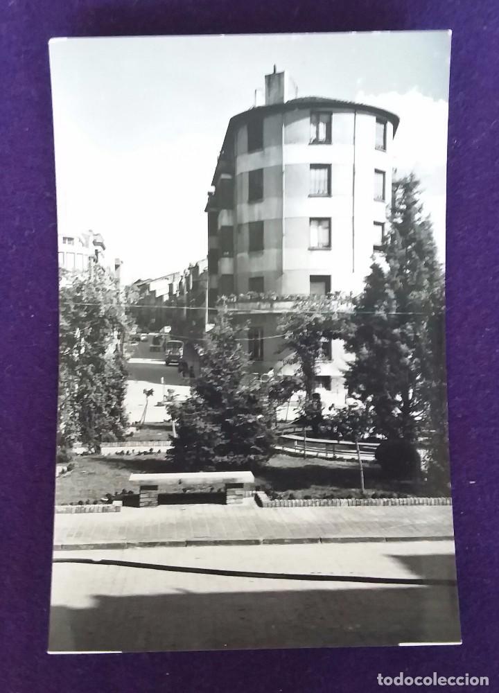 POSTAL DE CALAHORRA (LA RIOJA). N°26 GLORIETA (JARDINES). EDICIONES SICILIA. AÑOS 50. (Postales - España - La Rioja Moderna (desde 1.940))