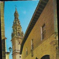 Postales: POSTAL * STO. DOMINGO DE LA CALZADA , PARADOR NACIONAL , TORRE CATEDRAL *. Lote 63302752