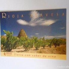 Postales: POSTAL RIOJA ALAVESA. AL DORSO RELACION DE BODEGAS DE LA ASOCIACION DE COSECHEROS. TDKP8. Lote 63552188