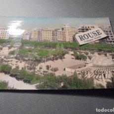 Postales: 41 - LOGROÑO , PASEO DEL ESPOLON , EDC PARIS , CIRCULADA AÑOS 60 POSTAL ILUMINADA CON ANILINAS 15X10. Lote 66466746