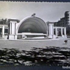 Postales: LOGROÑO, KIOSCO DE LA MUSICA, POSTAL CIRCULADA DEL AÑO 1958. Lote 66924926