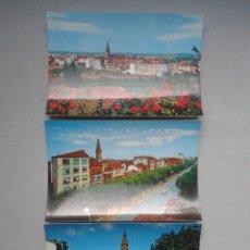 Postales: LOTE DE 3 POSTALES DE SANTO DOMINGO DE LA CALZADA. LA RIOJA.. Lote 67811549