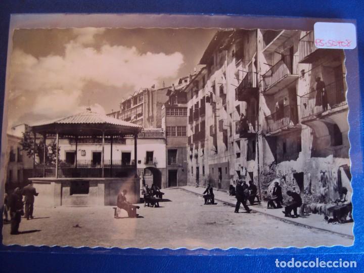 (PS-50408)POSTAL DE CERVERA DEL RIO ALHAMA-PLAZA DEL AYUNTAMIENTO (Postales - España - La Rioja Moderna (desde 1.940))
