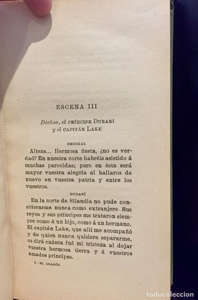 Postales: Jacinto benavente el dragón de fuego teatro 1edicion 1910 Barcelona - Foto 8 - 68305109