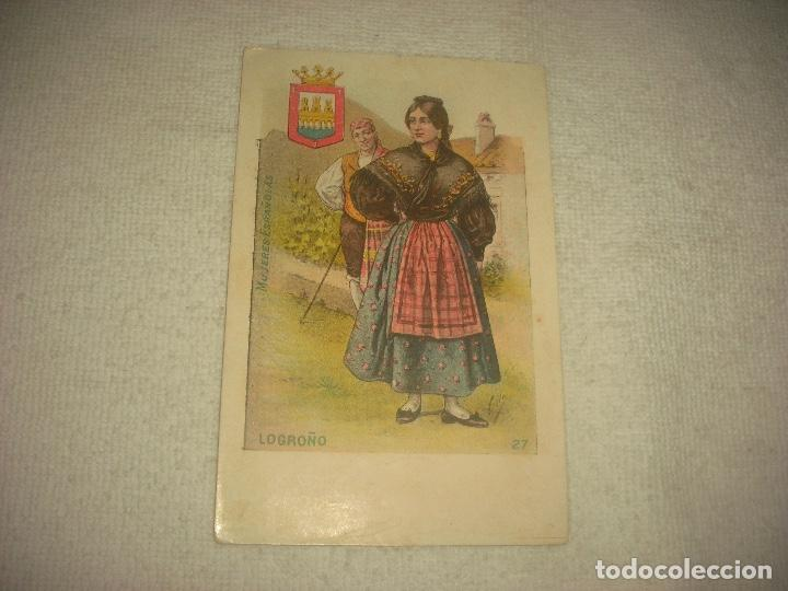 LOGROÑO, MUJERES ESPAÑOLAS . SATURNINO CALLEJA, SIN CIRCULAR . (Postales - España - La Rioja Moderna (desde 1.940))
