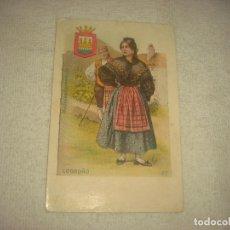 Postales: LOGROÑO, MUJERES ESPAÑOLAS . SATURNINO CALLEJA, SIN CIRCULAR .. Lote 72299287