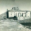 Postales: LOGROÑO LA RIOJA SAN ASENSIO. CASTILLO Y ERMITA DE DAVALILLO. CIRCULADA EN 1969. Lote 163545105