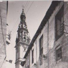 Postales: SANTO DOMINGO DE LA CALZADA (LA RIOJA) - CATEDRAL Y HOSPITAL DEL SANTO. Lote 77566117