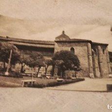 Postales: POSTAL DE EZCARAY - PARROQUIA - ESCRITA Y CIRCULADA. Lote 80387157