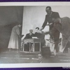 Postales: POSTAL FOTOGRAFICA DE LOGROÑO (LA RIOJA).AUTORIDADES.GOBERNADOR CIVIL BALLESTERO.1945. FOTO PALACIOS. Lote 80844671