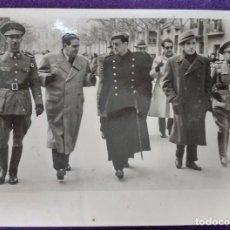 Postales: FOTOGRAFIA DE LOGROÑO (LA RIOJA). AUTORIDADES. GOBERNADOR CIVIL. 1945. FOTO PALACIOS. POSTAL. Lote 80845143