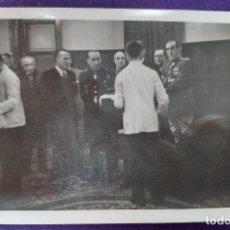 Postales: POSTAL FOTOGRAFICA DE LOGROÑO (LA RIOJA). AUTORIDADES.GOBERNADOR CIVIL BALLESTERO.1945.FOTO PALACIOS. Lote 80845455