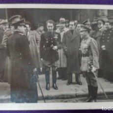 Postales: POSTAL FOTOGRAFICA DE LOGROÑO (LA RIOJA). AUTORIDADES.GOBERNADOR CIVIL BALLESTERO.1945.FOTO PALACIOS. Lote 80845543