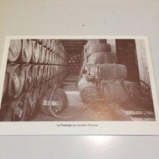 Postales: POSTAL VINOS DE RIOJA VIÑA TONDONIA. Lote 85109148