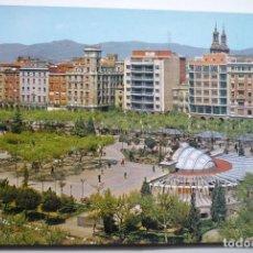 Postales: POSTAL LOGROÑO PASEO ESPOLON. Lote 88504732