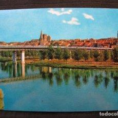 Postales: POSTAL LOGROÑO - Nº 7409 - VISTA PARCIAL ; RIO EBRO Y PUENTE DE HIERRO - CIRCULADA.. Lote 92119620