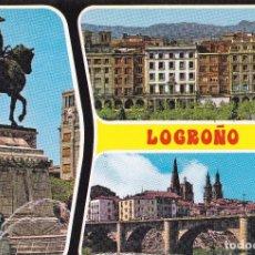 Postales: LOGROÑO Nº 26 BELLEZAS DE LA CIUDAD S/C.- .- EDIC. GARRABELLA . D.P.- 1971. Lote 92270285