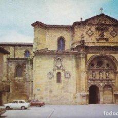 Cartes Postales: SANTO DOMINGO DE LA CALZADA CATEDRAL Y FACHADADEL PARADOR SALON S/C.- EDIC.-SKORPIO D.P.- 1973. Lote 92289630