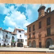 Postales: MORA DE RUBIELOS - PLAZA DEL AYUNTAMIENTO. Lote 104026444