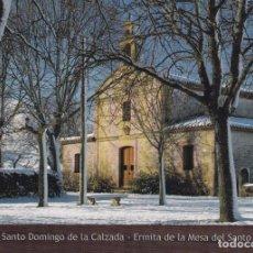 Postales: POSTAL ERMITA DE LA MESA DEL SANTO. SANTO DOMINGO DE LA CALZADA. Lote 95839311