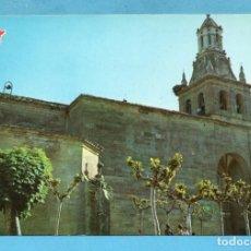 Postales: POSTAL DE CASTAÑARES DE RIOJA PARROQUIA NUESTRA SANTA NATIVIDAD Nº 3 EDITÓ PILMAR SIN CIRCULAR. Lote 96016763