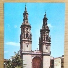 Postales: LOGROÑO - CATEDRAL . Lote 96163279