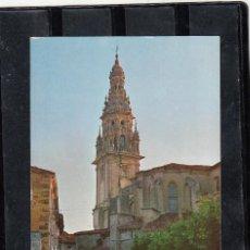 Postales: 6. SANTO DOMINGO DE LA CALZADA. TORRE DE LA CATEDRAL. Lote 96935359