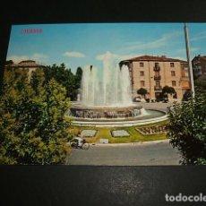 Postales: LOGROÑO FUENTE DEL MARQUES DE MURRIETA. Lote 97728727