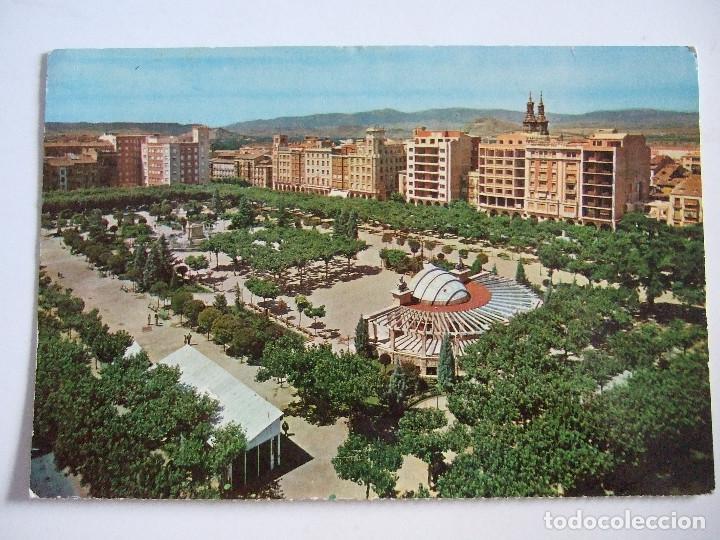 POSTAL LOGROÑO - PLAZA DEL ESPOLON - 1964 - FARDI 550 - SIN CIRCULAR (Postales - España - La Rioja Moderna (desde 1.940))