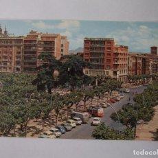 Postales: POSTAL DE LOGROÑO. VISTA PARCIAL DEL ESPOLON Y MURO DE LA MATA. GARCIA GARRABELLA. TDKP12. Lote 98122747
