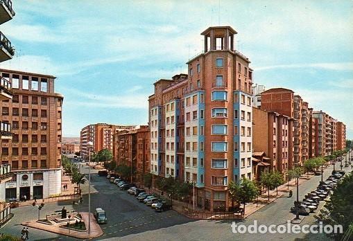 LOGROÑO - 7420 CRUCE AVENIDA DE ESPAÑA-VARA DE REY (Postales - España - La Rioja Moderna (desde 1.940))