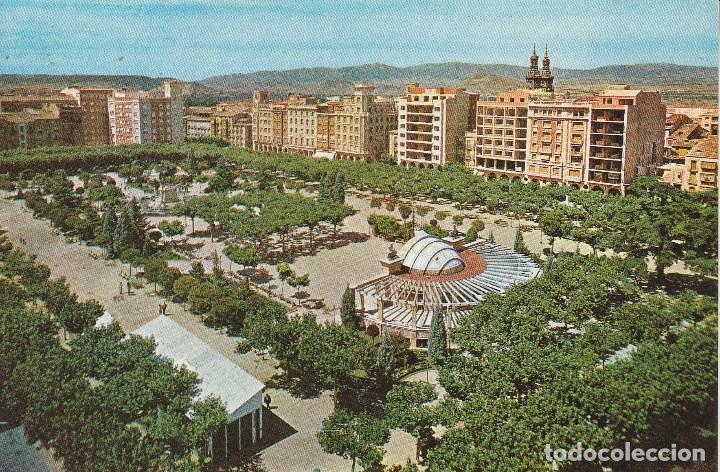 Nº 31343 POSTAL LOGROÑO PLAZA DEL ESPOLON LA RIOJA (Postales - España - La Rioja Moderna (desde 1.940))