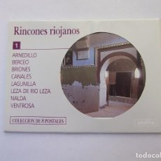 Postales: LOTE DE POSTALES. RINCONES RIOJANOS. ARNEDILLO, BERCEO, BRIONES, CANALES, LAGUNILLA. TDKP12. Lote 98584359