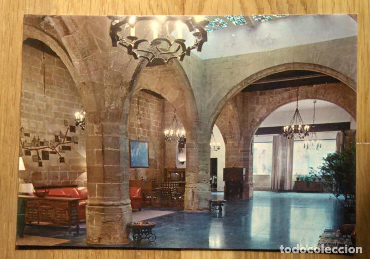 SANTO DOMINGO DE LA CALZADA - PARADOR NACIONAL - COMEDOR (Postales - España - La Rioja Moderna (desde 1.940))