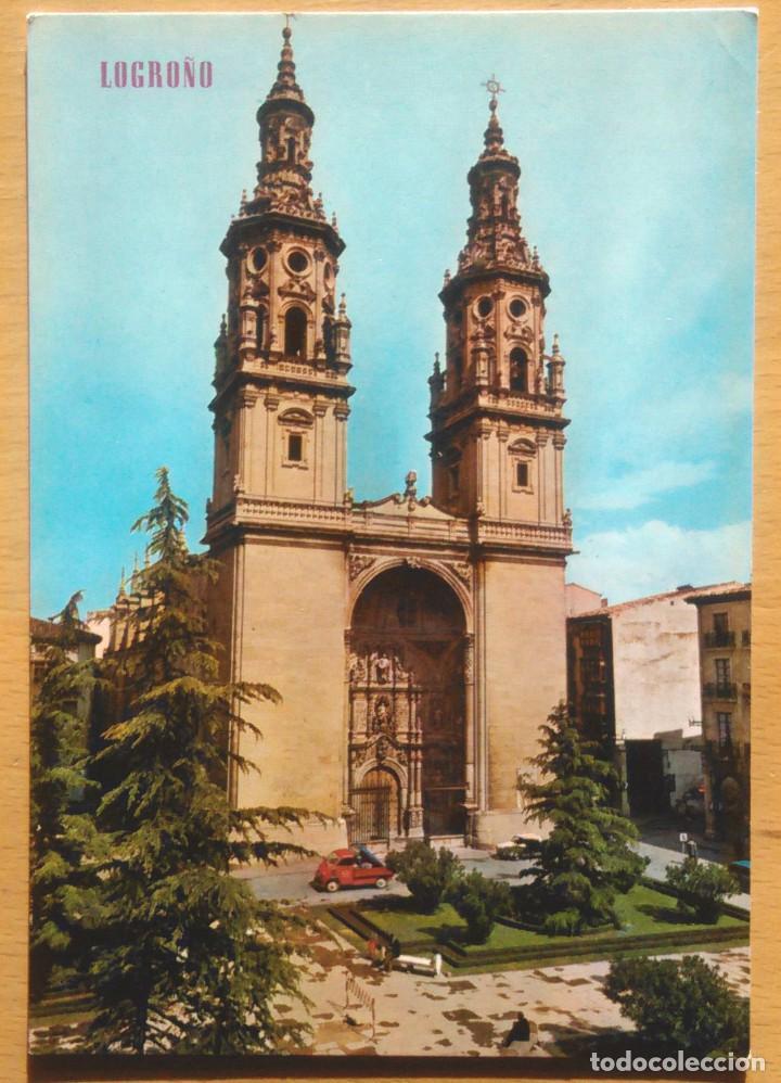 LOGROÑO - CATEDRAL (Postales - España - La Rioja Moderna (desde 1.940))