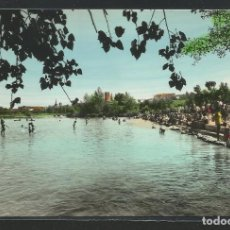 Postais: LOGROÑO - RÍO EBRO - DETALLE DE LA PLAYA - P24242. Lote 110226415