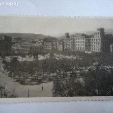 Postales: POSTAL FOTOGRAFICA DE LOGROÑO - VISTA GENERAL DEL ESPOLÓN - Nº 20 ED. JOSECHU - CIRCULADA AÑOS 50. Lote 112954547