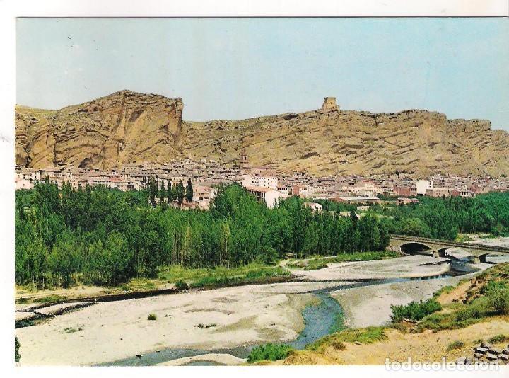POSTAL DE QUEL ( LOGROÑO): VISTA GENERAL (Postales - España - La Rioja Moderna (desde 1.940))